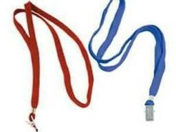 Веревка для беджа SK 103 красная