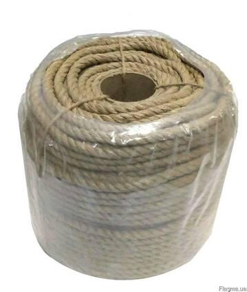 Веревка джутовая 12,0мм (на втулке 150м)