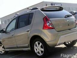 Верхний спойлер для Dacia Sandero (Дачия Сандеро)