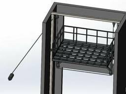 Вертикальный грузовой подъёмник для производства