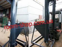 Вертикальный шнековый транспортер, погрузчик, шнек, конвейер, диаметр 159 мм.