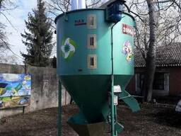 Вертикальный смеситель кормов «ГНОМ», 2000 кг. Биоэкопром