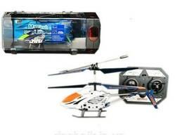 Вертолет аккум р/у 33008S 4 цвета, гироскоп, в в пластик. боксе 28*10*14 см, р-р игрушки. ..