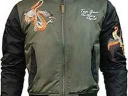 Осеняя куртка Top Gun The Flying Legend Bomber Jacket