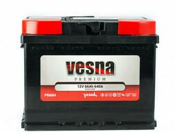 Vesna Premium Euro 66 Ah/12V (правый +)