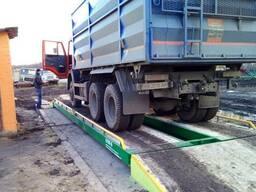 Весы автомобильные 9 метров 60 тонн для фермера