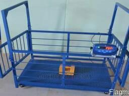 Весы для свиней и поросят Trionyx П0712-СК-600, 700х1200 мм
