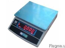 Весы фасовочные ВТЕ-Центровес-6-Т3-ДВ до 6 кг, с поверкой