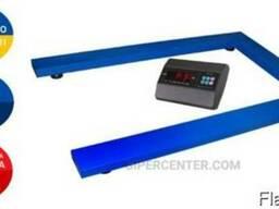 Весы паллетные Trionyx П0812-ПЛ-1500 A6 до 1. 5 тонн (1. 5 т)