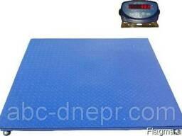 Весы платформенные 1.5х1.5м