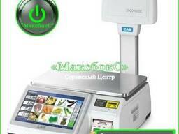 Весы с печатью этикетки CAS CL-7200-U