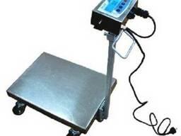 Весы-тележка электронные нержавеющего исполнения