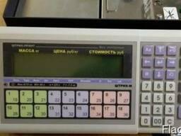 Весы торговые бу печать этикетки Штрих-Принт Ф1