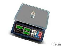 Весы торговые электронные настольные ПРОК ВТ-807-Т