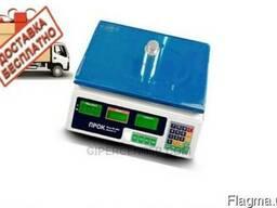 Весы торговые ПРОК ВТ-40 для рынка и магазина