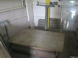 Весы товарные напольные г\п 2000 кг.