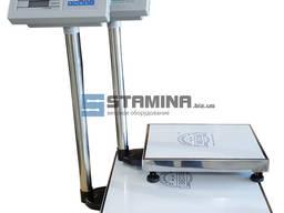 Весы товарные TCS 300х400 мм 150 кг / 400х500 мм 300 кг