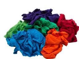 Ветошь цветной трикотаж (футболка)