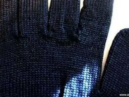 Ветошь с перчатки