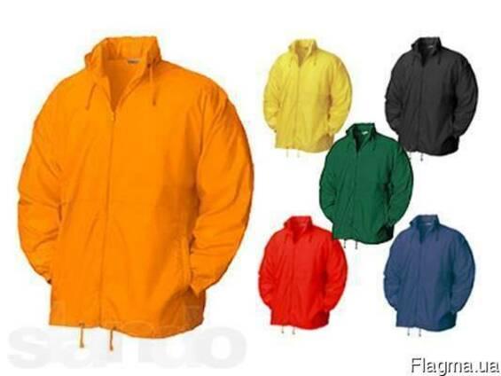 Ветровки д/с, мужские, женские, курточки, плащевка