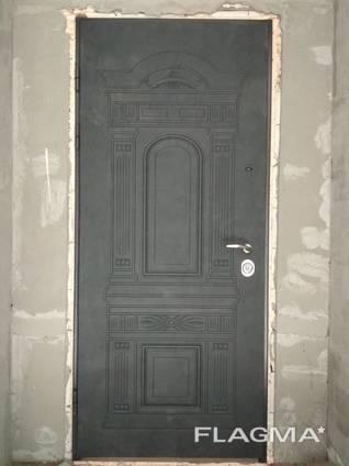 Входные бронированные двери под ключ (квартира, улица)