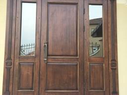 Входные бронированные двери. (Улица)