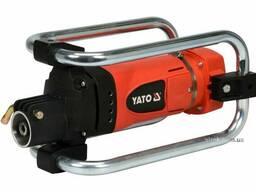 Вібратор для укладання бетону мережевий YATO 2300 Вт 4 м Ø35 мм з булавою