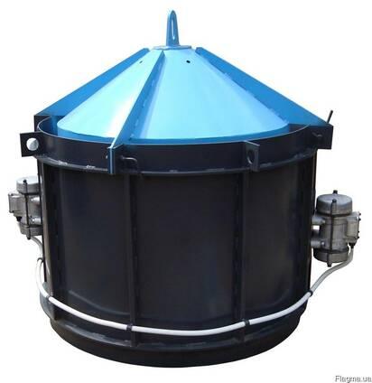 Вибро Форма Усиленная для производства железо бетонных колод