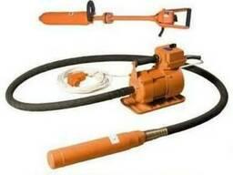 Вибратор глубинный электромеханический ручной с гибким валом