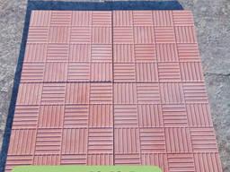 Вібролита тротуарна плитка. Бруківка. шоколадка 3.0
