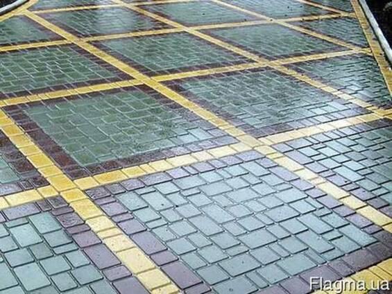 Вибролитая сухопрессованная тротуарная плитка в Харькове