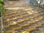 Вибролитая сухопрессованная тротуарная плитка в Харькове - фото 2