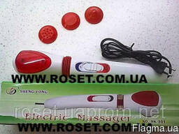 Вибромассажер для тела Electric Massager 3 насадки