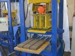 Вибропресс БАРС-УМ для производства тртуарной плитки, блока