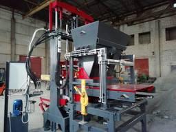 Вибропресс для производства дородного бордюра ПС-150 Полуавт
