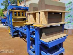 Вибропресс для производства дорожного бордюра КВП-858-2ПА