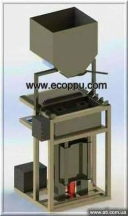 Вибропресс для изготовления блоков из полистиролбетона