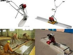 Виброрейки бензиновые и электрические любой длины