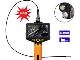 Видеоэндоскоп 1м 3, 9 мм видеоскоп бороскоп эндоскоп NTS 300
