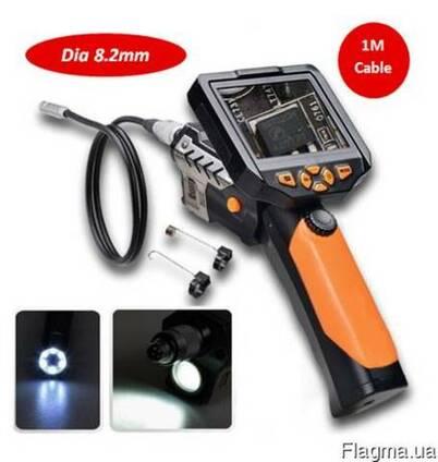 Видеоэндоскоп 1м 8,2мм видеоскоп бороскоп эндоскоп NTS200