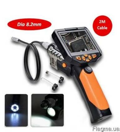 Видеоэндоскоп 2м 8,2мм видеоскоп бороскоп эндоскоп NTS200