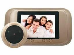 """Видеоглазок дверной цифровой для квартиры Kivos SG35 с 3. 5"""" экраном, и фото/видео записью"""