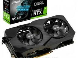 Видеокарта ASUS GeForce RTX2060 6144Mb DUAL OC EVO. ..