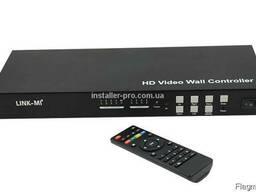 Видеоконтроллер 2x2,3x3, 4x4 . .. макс. 10x10