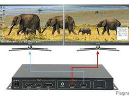 Видеоконтроллер для расширения на два HDMI монитора - фото 1