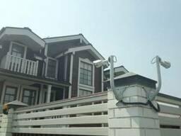 Видеонаблюдение для дома и территории возле дома установка