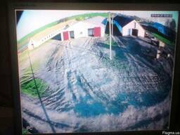 Видеонаблюдение для фермы монтаж, настройка Украина