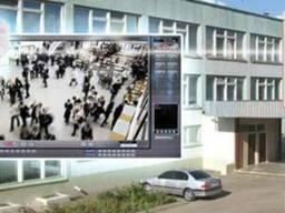 Видеонаблюдение, охранная сигнализация для школы.