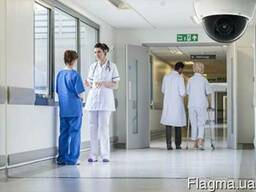 Видеонаблюдение в клинике