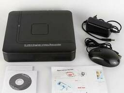 Видеорегистратор 3в1 AHD/IP/Аналог DVR4 канала HDMI код 3114